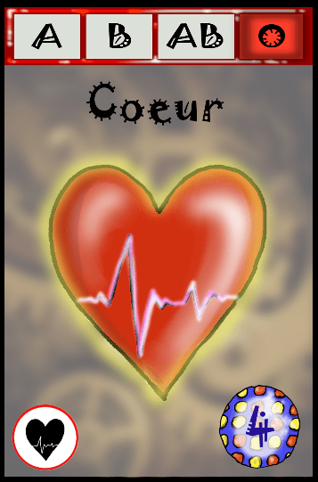 Planche Organes Coeur