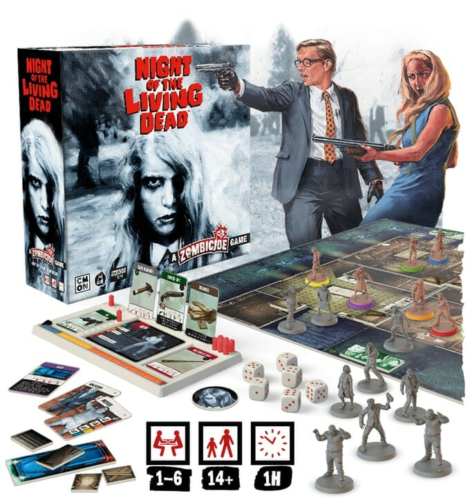 Night of the Living Dead A Zombicide Game
