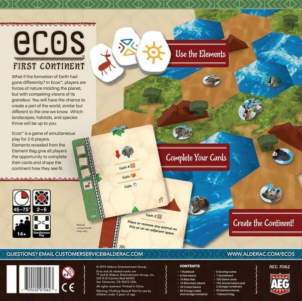 Ecos First Continent jeu de societe