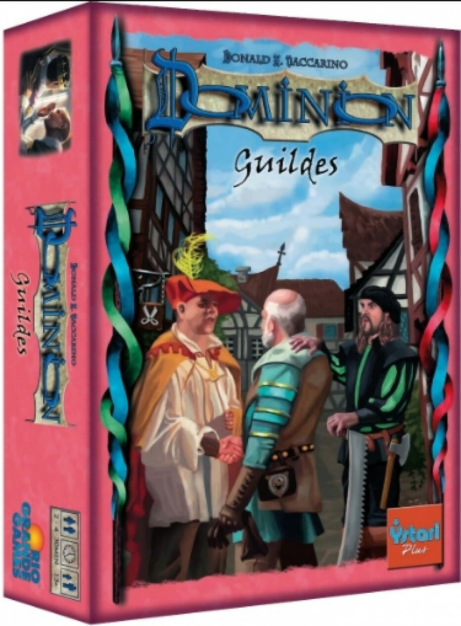 Dominion – les Guildes dans les bacs