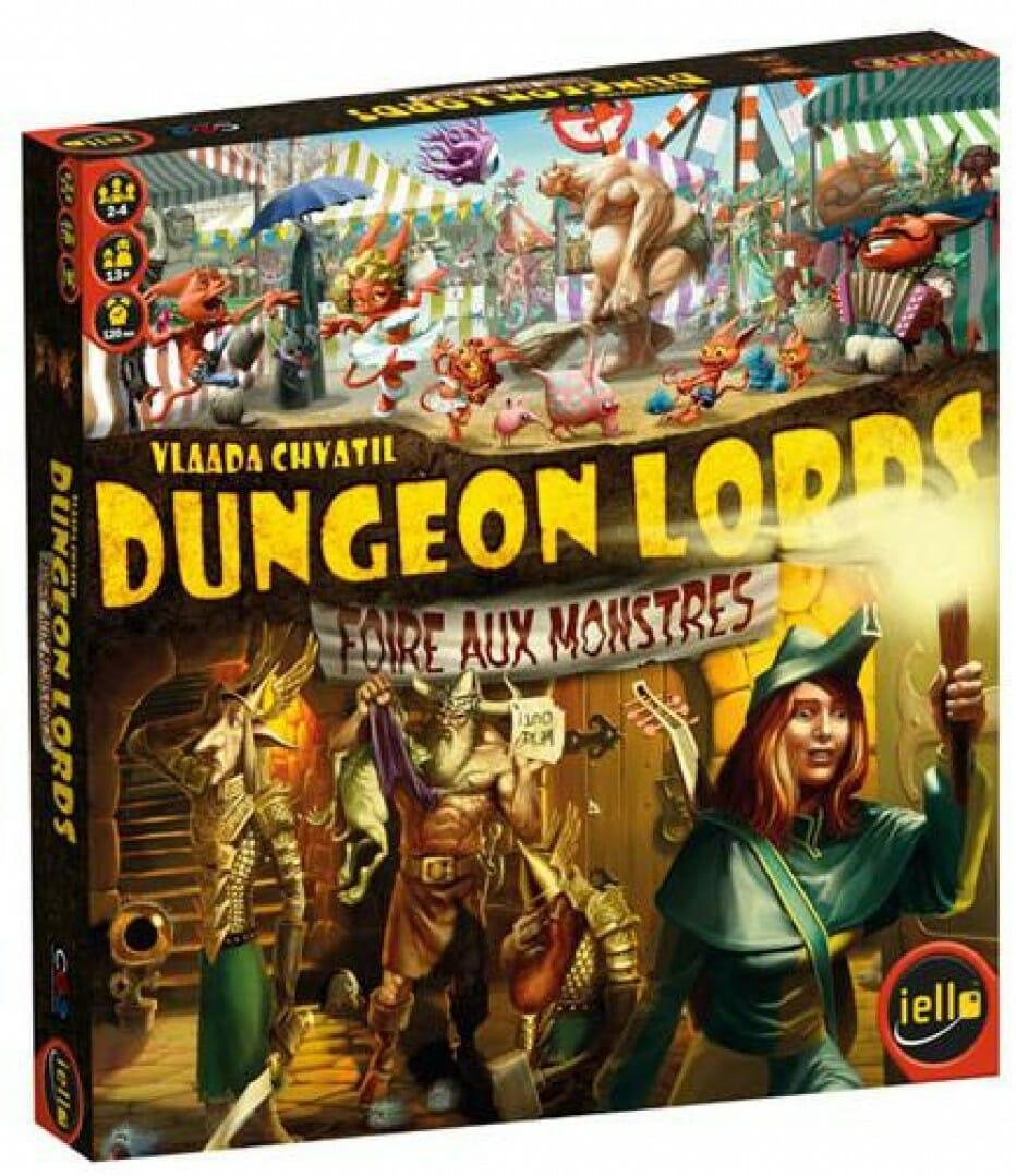 Dungeon lords : la saison de la Foire aux monstres est arrivée !