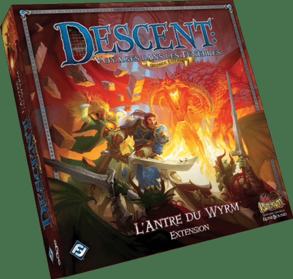 Descent v2 : L'Antre du Wyrm, et oui c'est déjà l'extension !