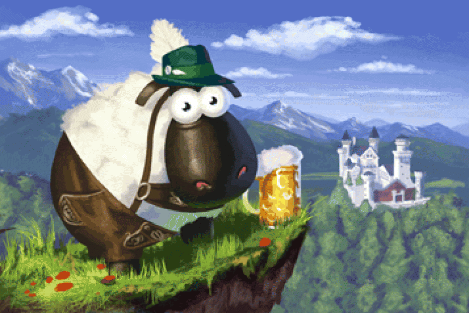 «The Sheep Race» forza Italia !