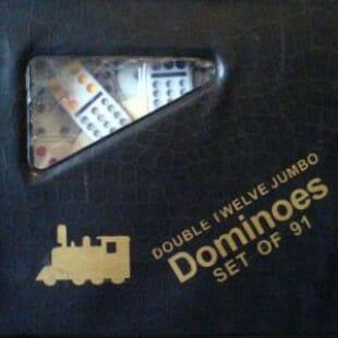 Domino Double 12 Mexican Train