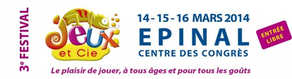 3e festival des jeux d'Epinal