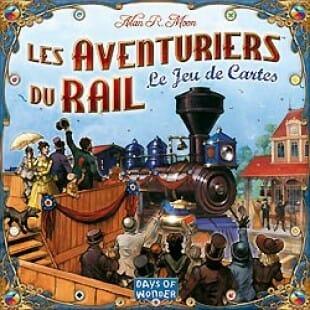 Les aventuriers du rail – Le jeu de cartes