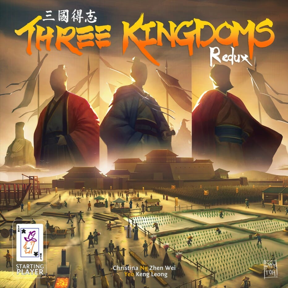 Three Kingdoms Redux c'est pas pour ta p'tite nièce