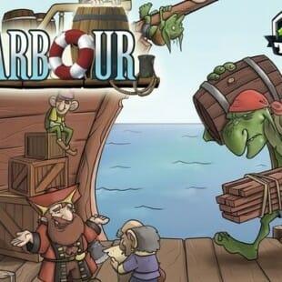 Harbour et son port marchand