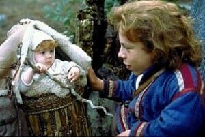 warwick davis willow baby