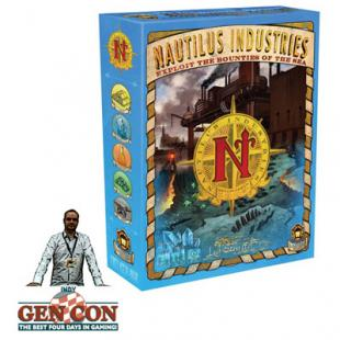 Fendoel to ze Gen Con 2014 : Nautilus Industries – Lamp Light Games