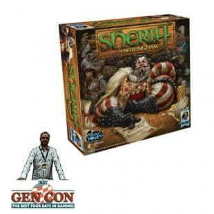 Fendoel to ze GenCon – Sheriff of Nottingham – Arcane Wonders