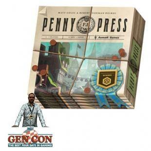 Fendoel to ze Gen Con 2014 : Penny Press – Asmadi Games