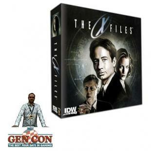 Fendoel to ze Gen Con 2014 : The X-Files – Pandasaurus & IDW Games
