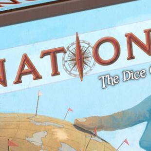 Le dé est un cube à pois. Nations : The Dice Game