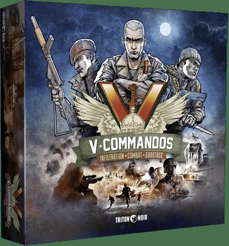 V-Commandos boite