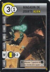 Magasin de jouets alien