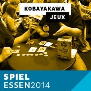 Essen 2014 – Day 1 – Kobayakawa – Iello – VF