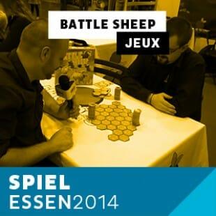 Essen 2014 – Day 1 – Battle sheep – Blue Orange – VF