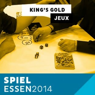 Zoom sur King's Gold avec Blue Orange