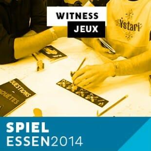 Essen 2014 – Day 1 – Witness – Ystari – VF