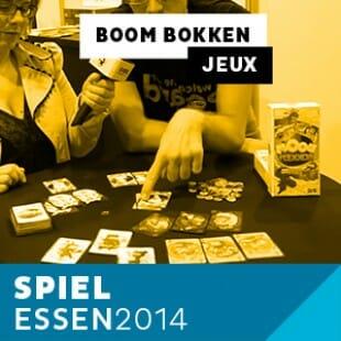 Essen 2014 – Day 2 – Boom Bokken – Playad Games – VF