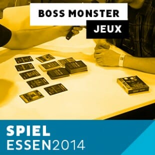 Essen 2014 – Day 3 – Boss Monster – Brotherwise Games – VOSTFR