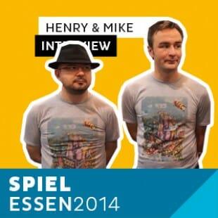 Essen 2014 – Day 3 – Interview Mike & Henry – Grublin Games – VOSTFR