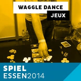 Essen 2014 – Day 3 – Waggle Dance – Grublin Games – VOSTFR
