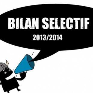 Bilan sélectif 2013/2014 de Ludovox