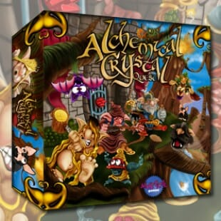 Alchemical Crystal Quest : ouh que ça sent bon ça !