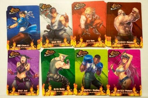 Les 8 personnages présents dans le jeu !