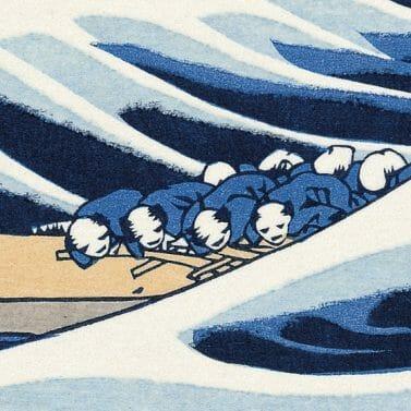 Des pêcheurs bien menacés...