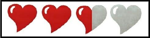 coeur 2.5 sur 4