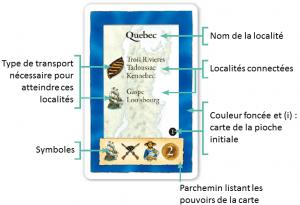 Exemples de cartes : carte de lieu du Français