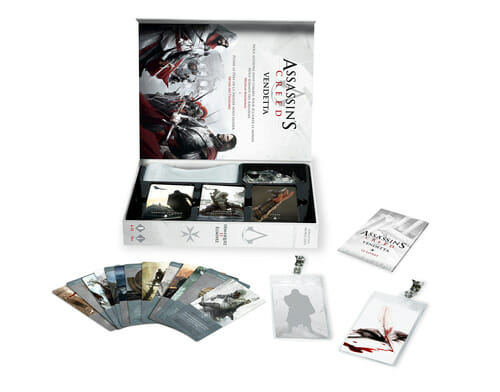 Assassins-Creed-Vendetta-Bragelone-Boite-Jeu-de-societe-ludovox