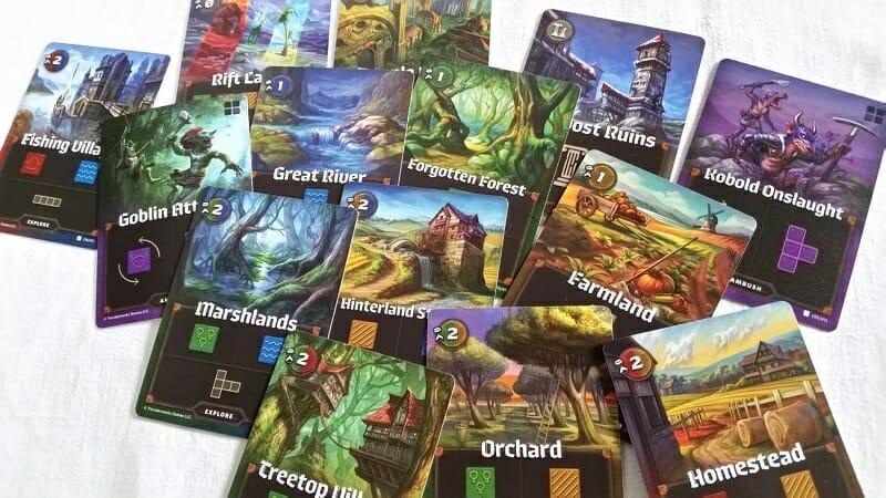 Cartographers (5) cartes
