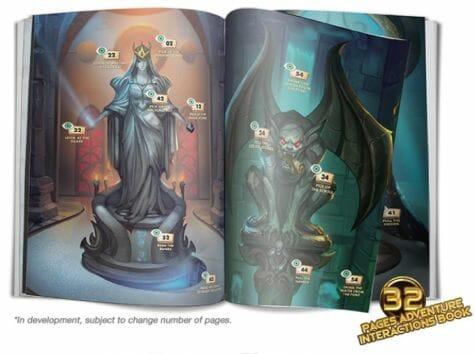 Chronicles of Drunagor Age of Darkness jeu de societe livret