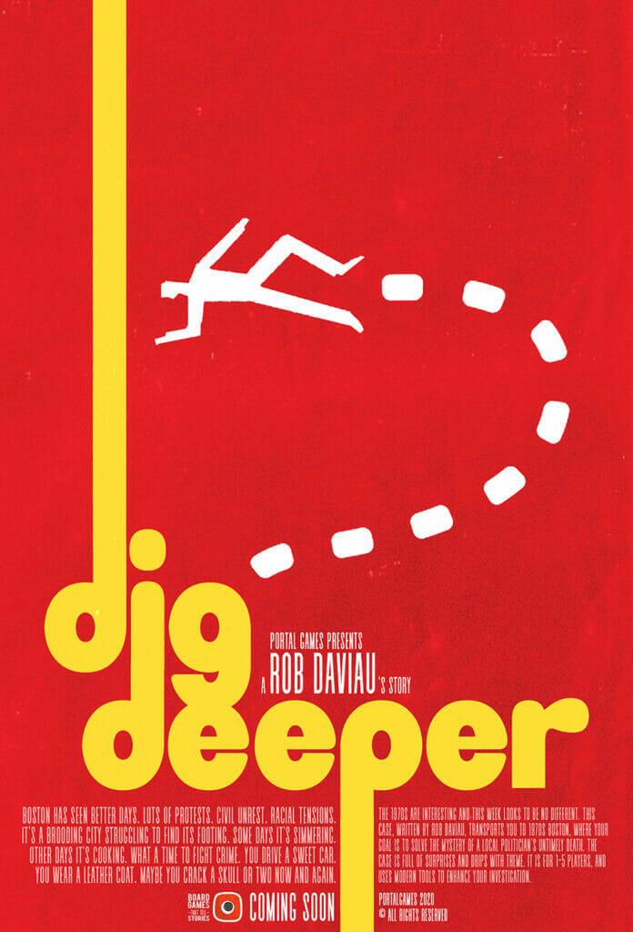 Dig Deeper cover jeu