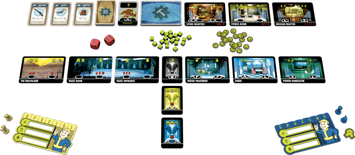 Fallout Shelter The Board Game jeu