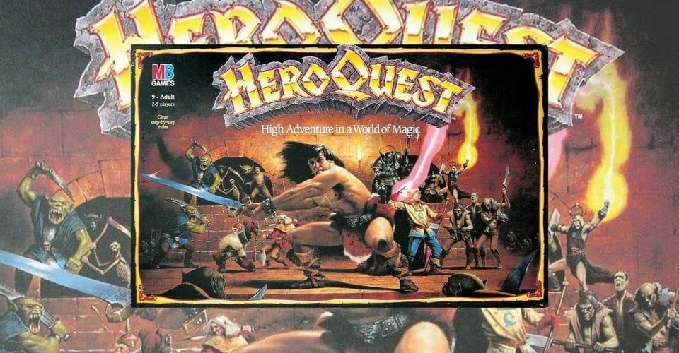 HEROQUEST jeux