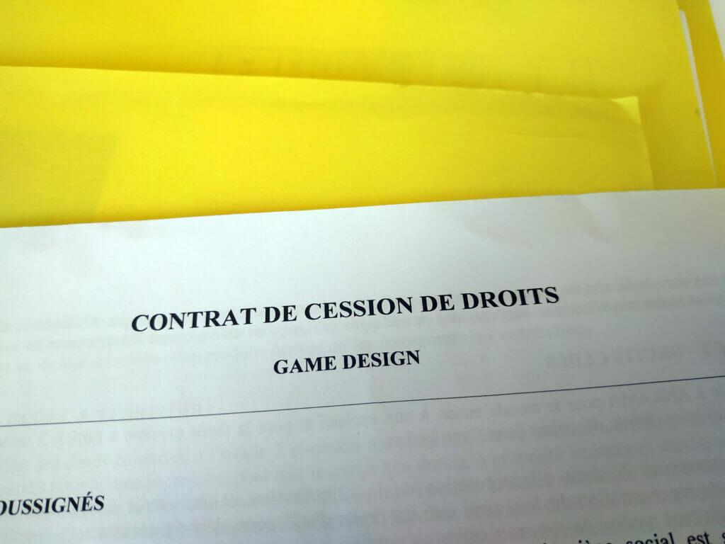 Contrat Edition