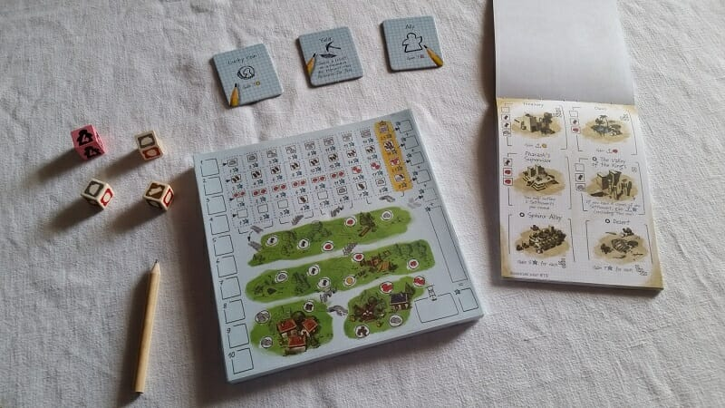 Imperial settlers Roll & Write (2)