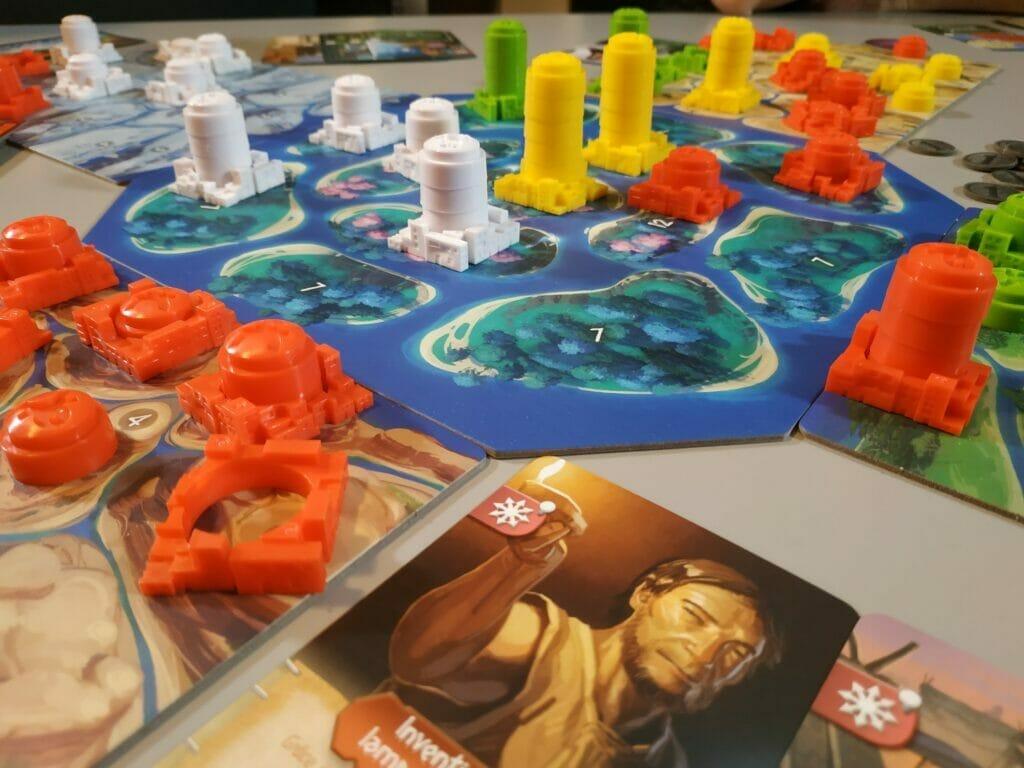 Une fin de partie avec une jolie colonisation de Genesia !