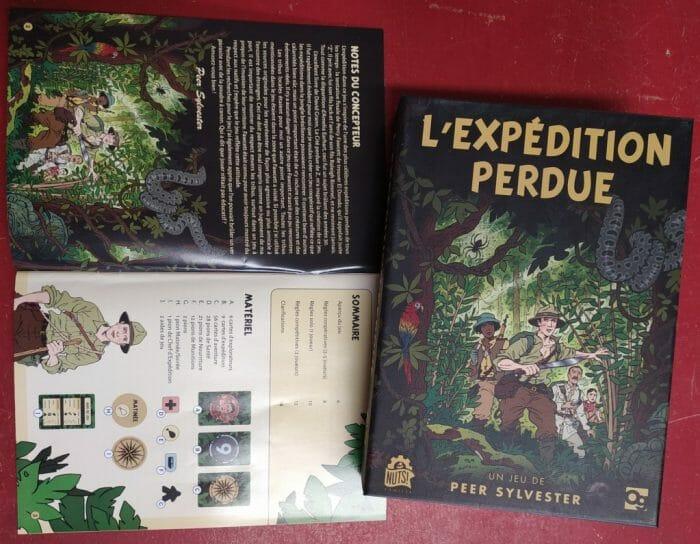 Jeu de société L'expédition perdue - Ludovox (14)