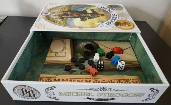 Une belle boîte de jeu à l'ouverture originale
