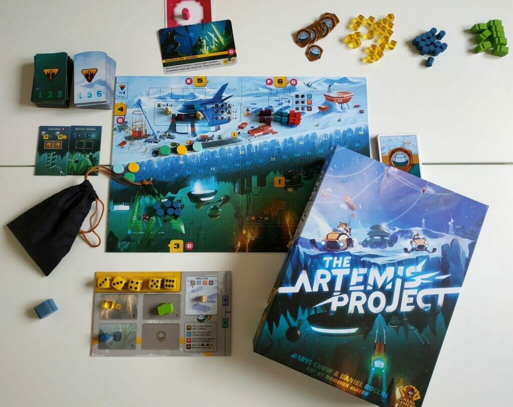 Jeu de société The Artémis Project - Ludovox (4)