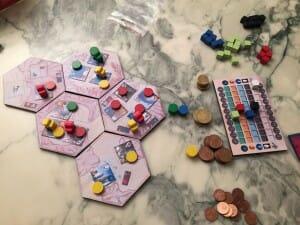 Les premières parties ne furent pas avec les beaux hexagones d'iIsmaël