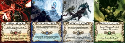 MAGE KNIGHT CARDS