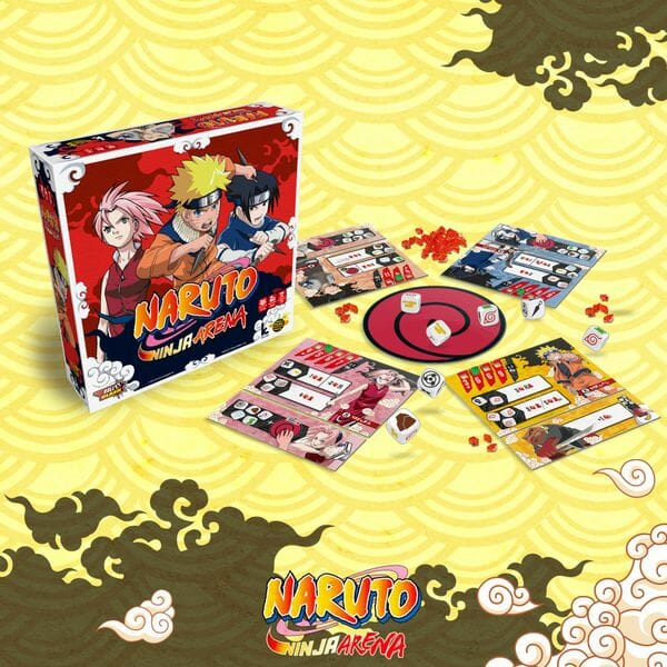 Naruto Ninja Arena jeu ludovox présentation news
