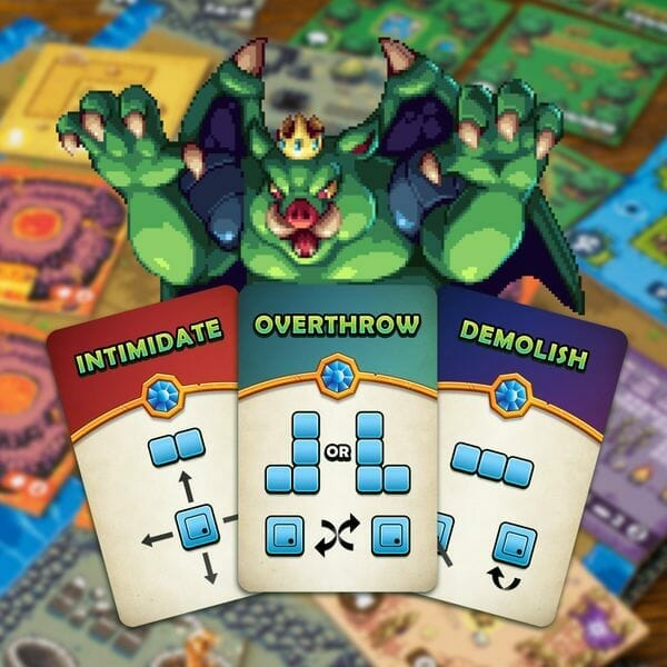 Overlord A Boss Monster Adventure jeu carte